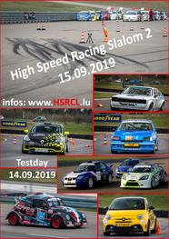 Resultats High Speed Racing Slalom 2